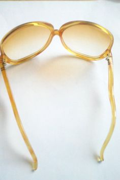 ea54f4cfb048 60 s Mod Oversized Tangerine Sunglasses   by JulesCristenVintage 60s Mod