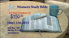 Julie & Friends' Women's Study Bible | www.tct.tv | Watch Julie & Friends every weekday at 3p/2c