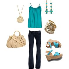 Summertime....., created by katie445 on Polyvore