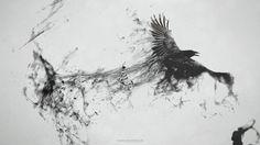 Dark Messenger by Pyrogas-Sipo http://pyrogas-sipo.deviantart.com/art/Dark-Messenger-310863230