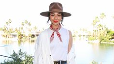 The celebrity stylist shared nuggets of fashion wisdom during Coachella's second weekend.