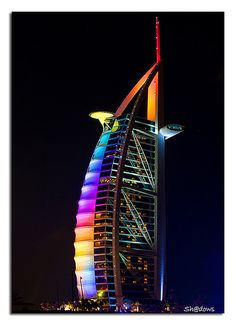 Burj al-Arab Hotel in Dubai Abu Dhabi, Structural Expressionism, Dubai Tower, Hotel World, Travel Tickets, Burj Al Arab, Dubai Travel, Amazing Pics, Awesome