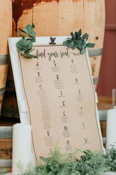 Rustic Wedding Seating Chart Rustic Wedding Seating, Rustic Wedding Signs, Seating Chart Wedding, Essence Of Australia, California Wedding Venues, Blush Bridal, Bridal Beauty, Backdrops, Floral Design