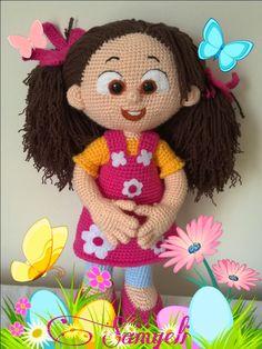 Samyelinin Örgüleri: NİLOYA,Oynarız Doya Doya.LOVE HER FACE AND FLOWER DRESS