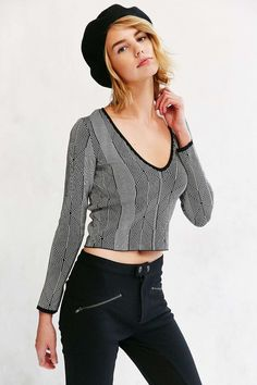 Silence + Noise Darcy Sweater // Ooh I hope I can find this in my size!