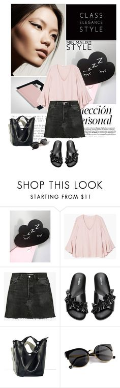 """""""Welcome summer"""" by solespejismo on Polyvore featuring moda, Donna Karan, Sass & Belle, MANGO, RE/DONE, H&M y 3.1 Phillip Lim"""