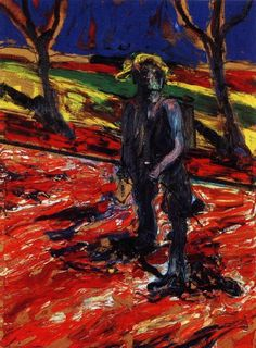 Francis Bacon. Study for portrait of van gogh III. 1957