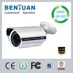 Outdoor CCTV camera High resolution 1080P Full HD-SDI 2.0mega pixel COMS motorized zoom lens IR Waterproof Bullet IP Camera