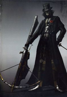Is Marvelous Chester of Dark Souls actually from Bloodborne's Yharnam? He certainly looks the part.