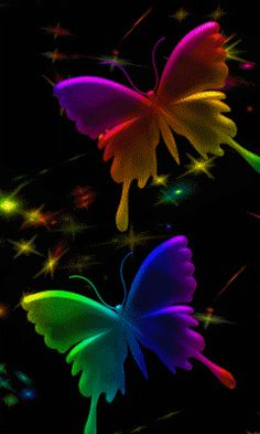 Download Animated 240x400 Butterfly Cell Phone Wallpaper Category Abstract