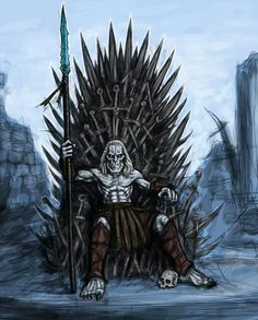 White Walker on the throne