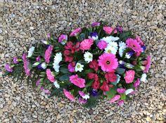 Pink Teardrop Spray | Flowers by Rosina May | Bristol, South Gloucestershire