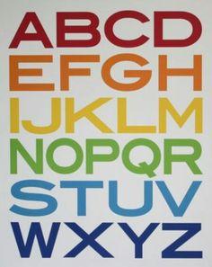 ABC's w/ color