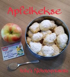 Heike's Küchenexperimente : Apfelkekse