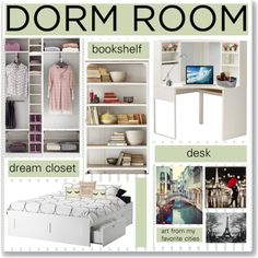 Dorm Room Decor - Polyvore