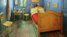 "Create AirBnB promotion where you can stay in the ""Van Gogh Room"" at the Art Institute of Chicago. Perhaps a brand can reserve a night at one point?"