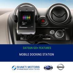 #Mobile Docking Station Feature with Datson Go+ #ShaktiNissan - https://goo.gl/2R4Ftd #ShowRoom in #NaviMumbai #MyCar #Drive #Datsun #GoPluse #DatsonInteriorFeature