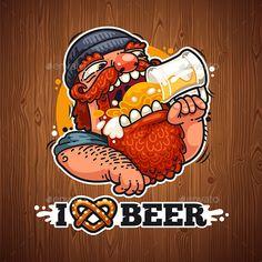 Man Loves Beer by Voysla Beer Brewing, Home Brewing, Beer Shop, Beer Poster, Beer Art, Airplane Art, Beer Signs, Beer Lovers, Man In Love