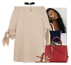 """""""You're my equivalent"""" by mxnvt ❤ liked on Polyvore featuring TIBI, Smythson, S'well, PhunkeeTree, Fendi, Soludos, Accessorize and Alexander McQueen"""