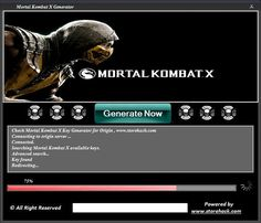 Mortal Kombat X Key Generator