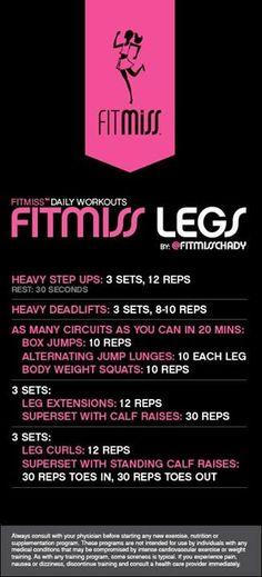~Legs Workout~
