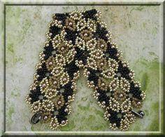 Jaycee Patterns - paid pattern. It looks like a pattern from beadwork february/2013.