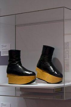 Vintage Vivienne Westwood. Rocking Horse Boots - Harris Tweed Collection 1987