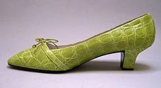 House of Dior   Designer: Roger Vivier (French, 1913–1998) Date: 1961 Culture: French Medium: turtle skin