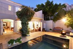 Belize - a gorgeous double-storey villa in the trendy coastal suburb of Camps Bay