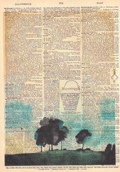 Fragile Dictionary Print