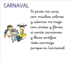 Poesía de Carnaval para infantil