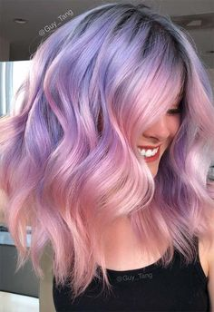 Lilac Hair Dye, Lavender Hair Colors, Dark Purple Hair, Cute Hair Colors, Hair Color Purple, Hair Dye Colors, Cool Hair Color, Dyed Hair, Purple Hues