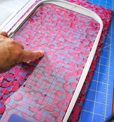 1 simple tool helps you center your machine embroidery perfectly