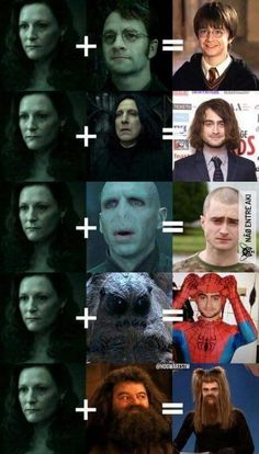 The 5 versions of Harry Potter.site The 5 versions of Harry Potter. – The 5 versions of Harry Potter. Harry Potter Tumblr, Harry Potter World, Memes Do Harry Potter, Harry Potter Images, Harry Potter Cast, Potter Facts, Harry Potter Characters, Harry Potter Fandom, Hrry Potter