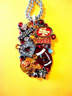 San Francisco 49ers  Dog Tag Pendant Number 937 by BradosBling, $39.99