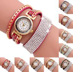 >> Click to Buy << 2017 New Fashion Luxury Fashion Women Fashion Casual Analog Quartz Women Rhinestone Watch Bracelet Watch JUL20 P30 Drop Shipping #Affiliate