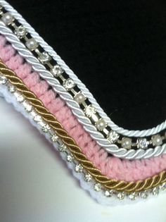 Pink & Pearl Horse Fly Bonnet 2 by ImperialBonnets on Etsy