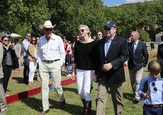 Princess Charlene at Monte-Carlo Polo Clup