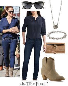 What the Frock? - Affordable Fashion Tips and Trends: Celebrity Look for Less: Jennifer Garner Style