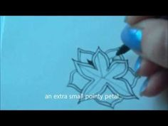 How to draw tanglepattern Cyme