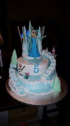 Torta Frozen, торт Холодное Сердце