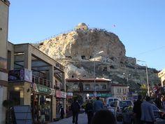 Urgup town in Cappadocia Turkey