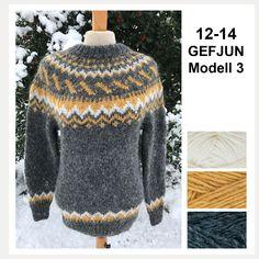 no - Spesialist på islandsk ull Beginner Knitting Projects, Knitting For Kids, Knitting For Beginners, Icelandic Sweaters, Wool Sweaters, Fair Isle Knitting Patterns, Digital Pattern, Wool Yarn, Men Sweater