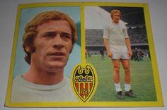 ADORNO ESTE CROMO CROMOS 1972 BARCELONA VALENCIA CLUB DE FUTBOL