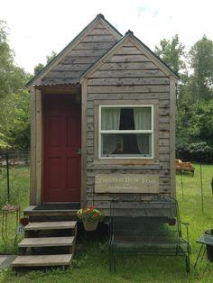 Tiny House on Wheels just west of Omaha, Nebraska