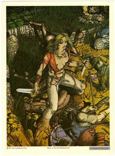 Valeria of the Red Brotherhood  by Barry Windsor Smith