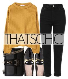"""""""PUMPKIN SPICE CHIC"""" by tamarasimic ❤ liked on Polyvore featuring Kate Spade, Topshop, Valentino and MANGO"""