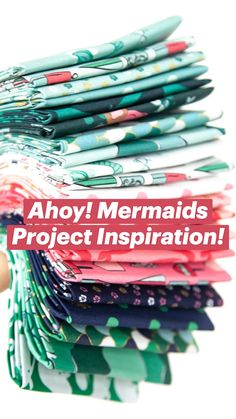 Ahoy! Mermaids Project Inspiration!