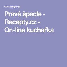 Pravé špecle - Recepty.cz - On-line kuchařka