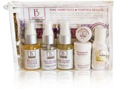 Be Natural Organics Sample/Travel Pack (Anti-aging Travel Collection) by Be Natural Organics. $35.00. Choose from the: normal, problematic/acne, or anti-aging collection for your next trip.. Mini sizes provide a perfect trial amount or travel size. Never tried Be Natural Organics?  Try a travel pack!. Now you can take your favorite products traveling. Choose from the: normal, problematic/acne, or anti-aging collection for your next trip.  This travel pack contains:...